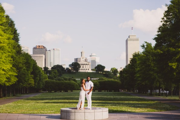 Amber-and-Adrian-Engagement-0024-595x397 Fisk University Love Engagement Session