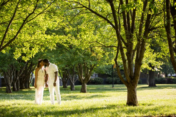 Amber-and-Adrian-Engagement-0032-595x397 Fisk University Love Engagement Session
