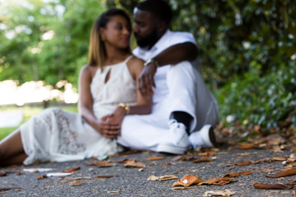 Amber-and-Adrian-Engagement-0038-595x397 Fisk University Love Engagement Session