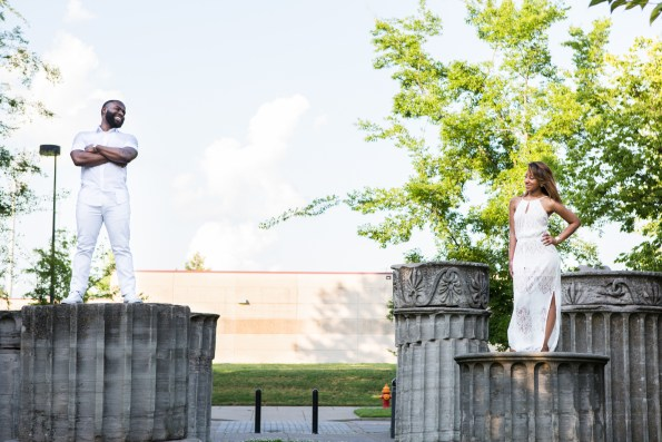 Amber-and-Adrian-Engagement-0046-595x397 Fisk University Love Engagement Session