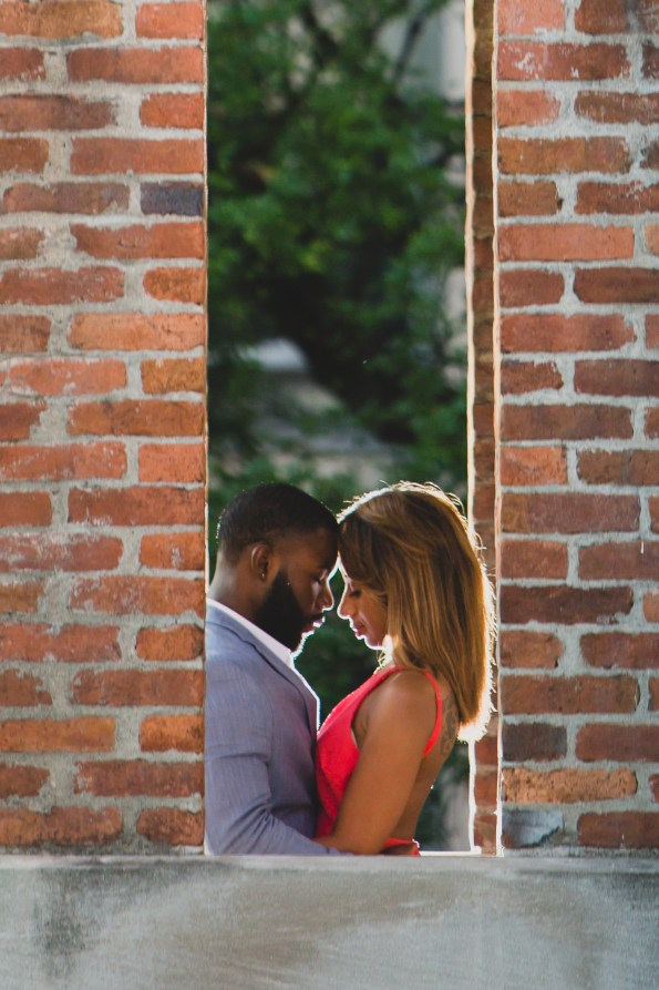 Amber-and-Adrian-Engagement-0048-595x893 Fisk University Love Engagement Session