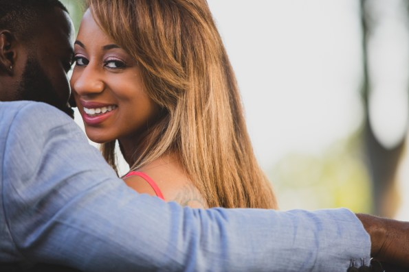 Amber-and-Adrian-Engagement-0053-595x397 Fisk University Love Engagement Session