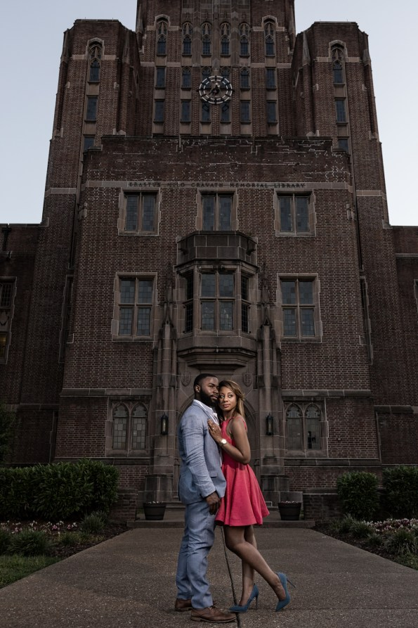 Amber-and-Adrian-Engagement-0067-595x893 Fisk University Love Engagement Session