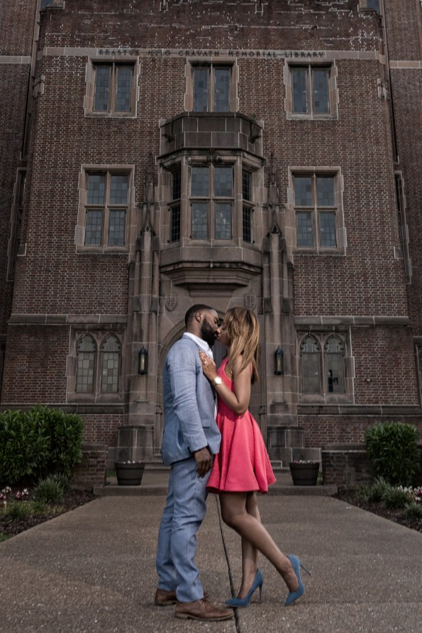 Amber-and-Adrian-Engagement-0068-595x893 Fisk University Love Engagement Session