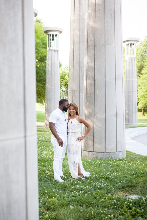 Amber-and-Adrian-Engagement-0072-595x893 Fisk University Love Engagement Session