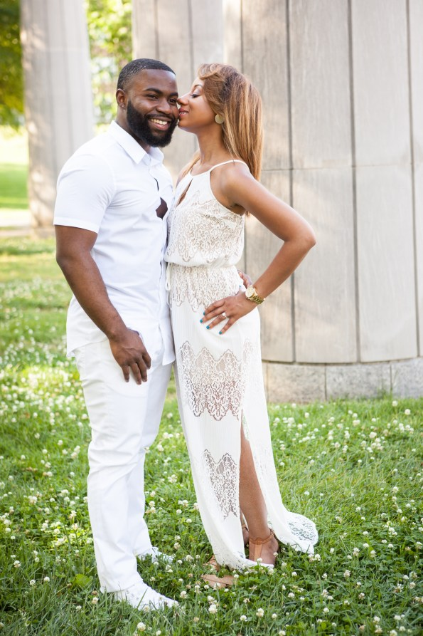 Amber-and-Adrian-Engagement-0073-595x893 Fisk University Love Engagement Session