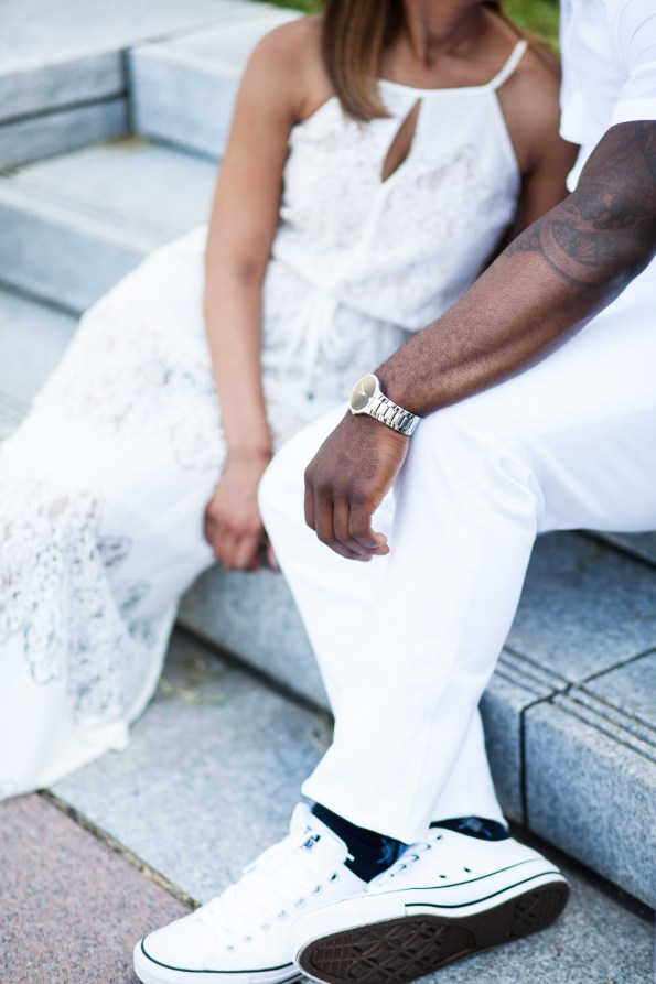 Amber-and-Adrian-Engagement-0077-595x893 Fisk University Love Engagement Session