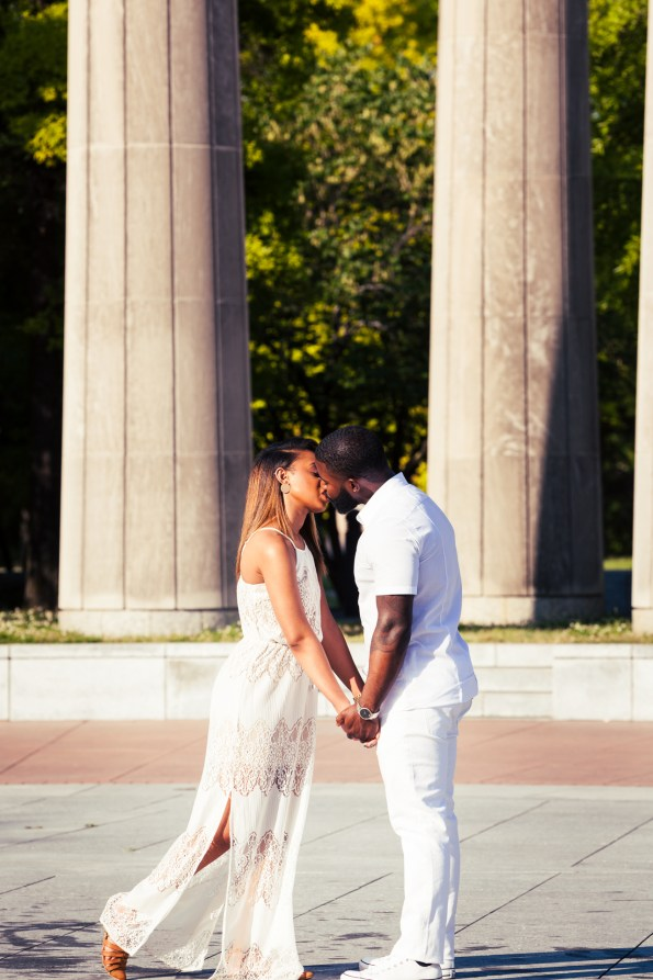 Amber-and-Adrian-Engagement-0080-595x893 Fisk University Love Engagement Session