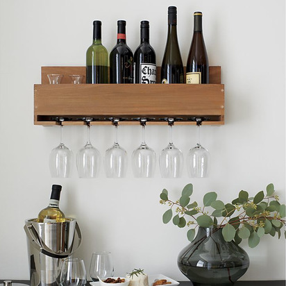 BPR-WINE-STEM-RACK 15 Items for a Black Southern Belle Registry