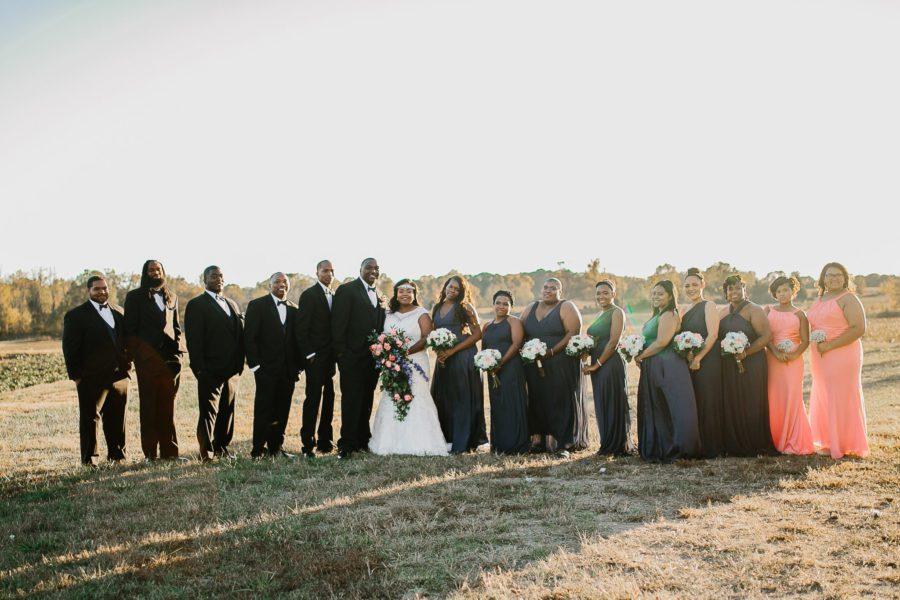 Jackson, TN Chic Barn Wedding