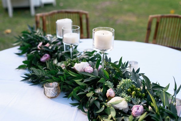 Greenery-Runner-595x398 Saint Simons, GA Based Wedding Planner and Southern Belle