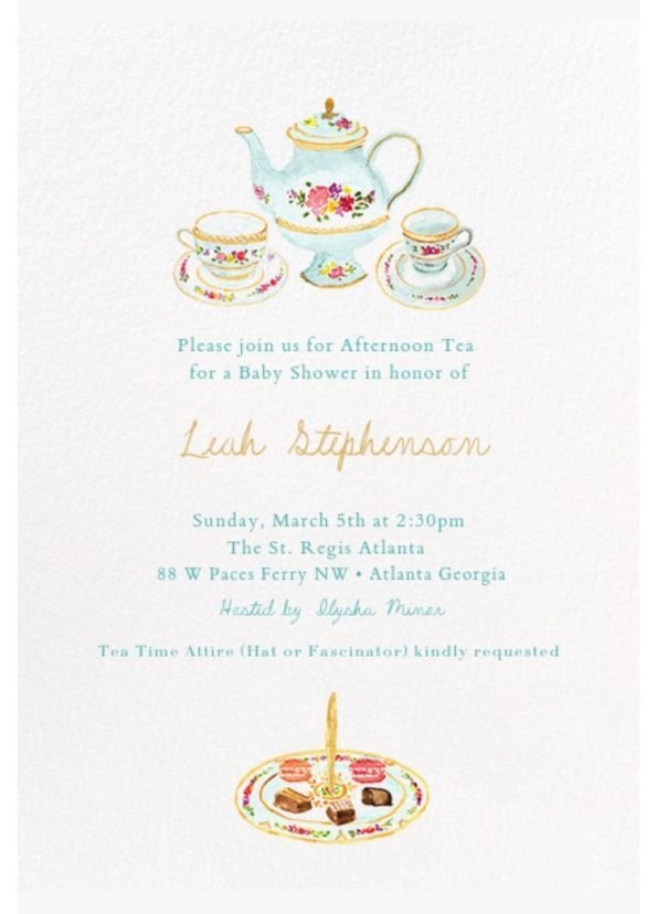FullSizeRender-595x828 5 Tips for Planning an Afternoon Tea Baby Shower