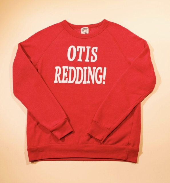 Father's Day Gift. Red Ottis Redding crewneck.