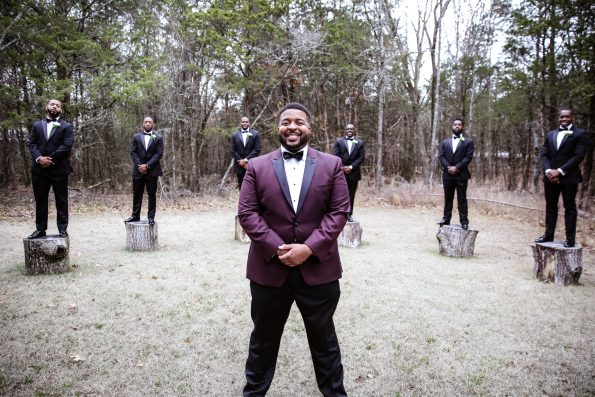 Roberson-81-groomsmen-hands-crossed-595x397 Spelhouse Love Reigns in Music City