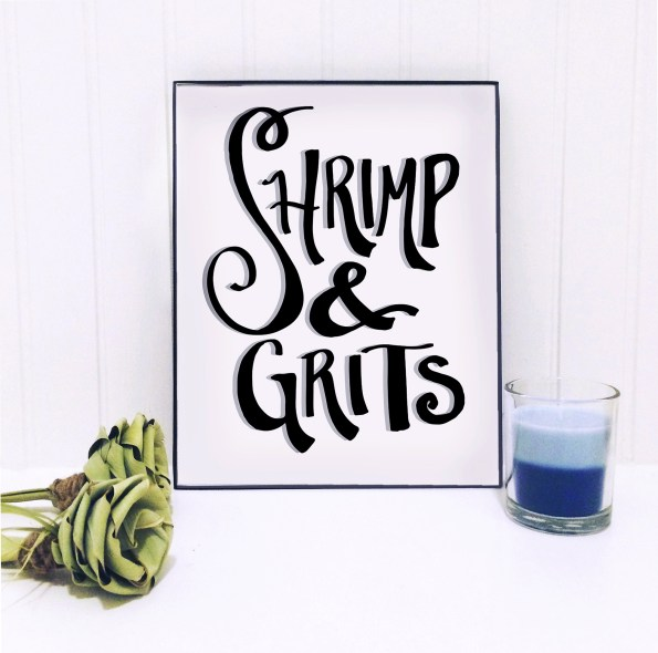 shrimpgrits_home-595x590 Etsy Home Decor with Southern Inspiration