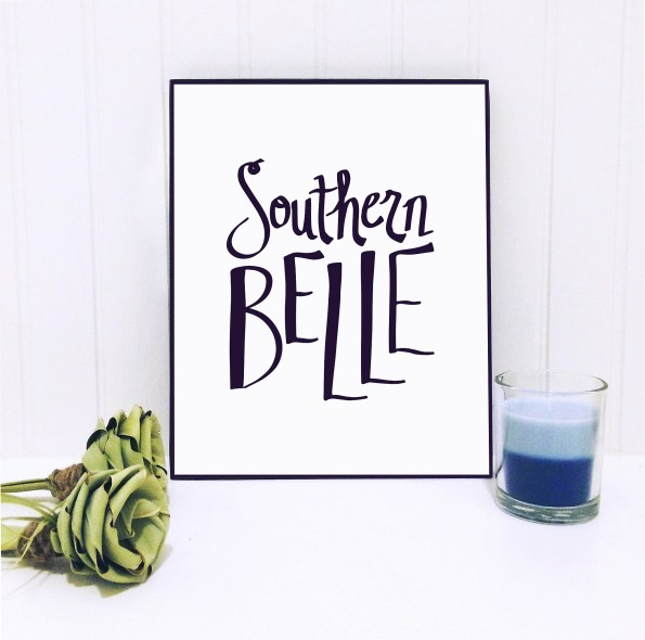 southernbelle-595x590 Etsy Home Decor with Southern Inspiration