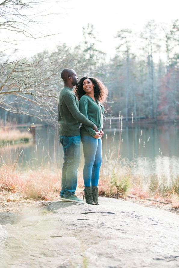 HE7A8007-1-595x893 Atlanta, GA Outdoor Engagement Shoot