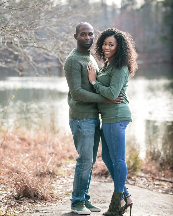 KD173814-595x744 Atlanta, GA Outdoor Engagement Shoot