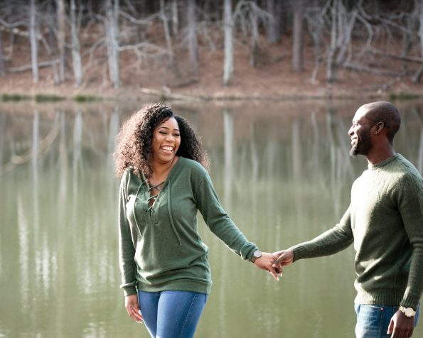 KD173855-595x476 Atlanta, GA Outdoor Engagement Shoot