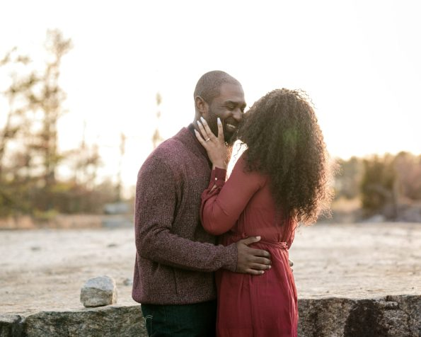 KD174034-595x476 Atlanta, GA Outdoor Engagement Shoot