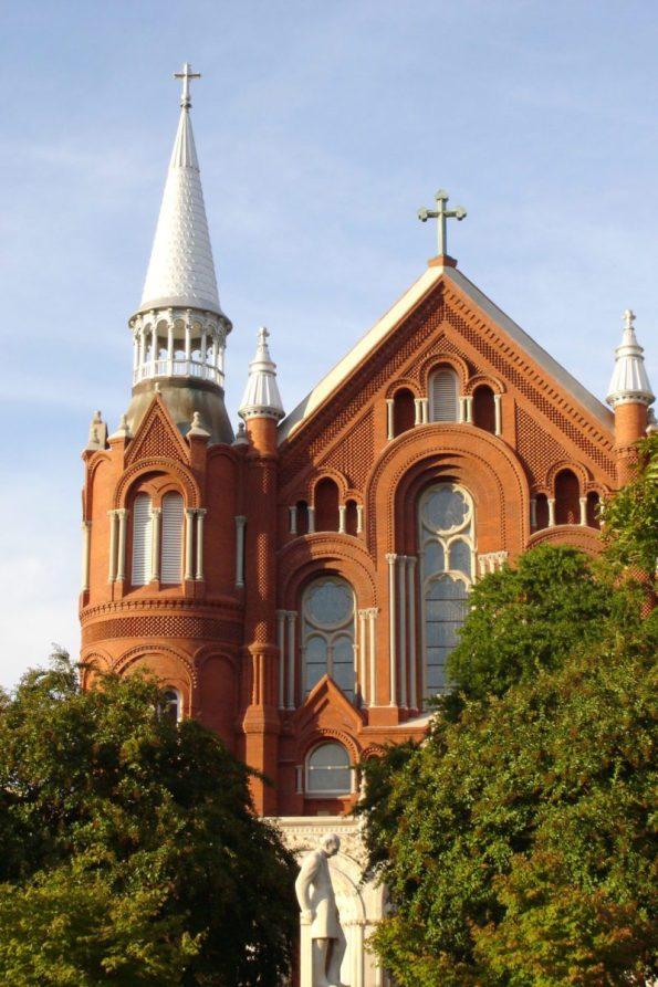 Sacred-Heart-Cultural-Center-1-595x893 Black Southern Belle Travel: Augusta, GA