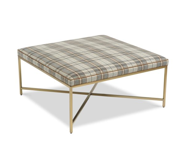 Daley-Ottoman-595x513 Newlywed Neutral, Menswear Inspired Furniture from Taylor King