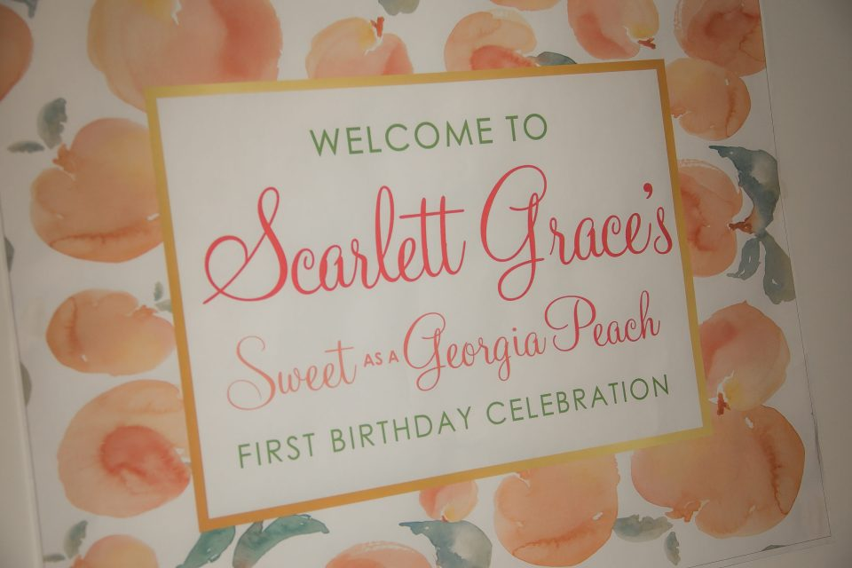 SG-First-Birthday-35-960x640 How to Plan a Southern Baby Party with Georgia Peach Style