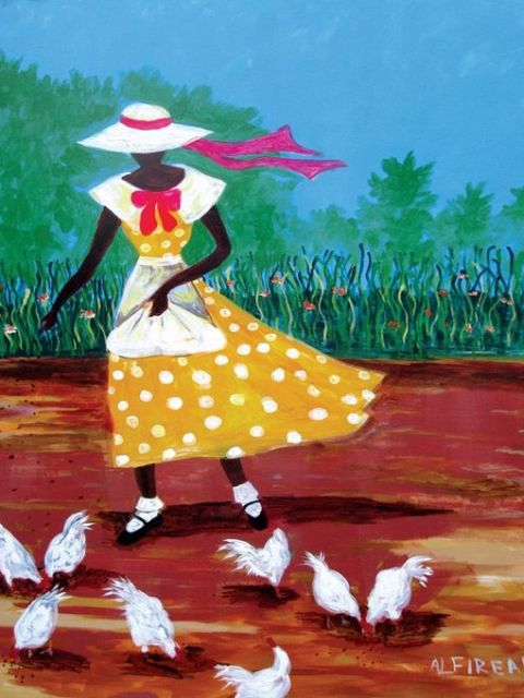 Feeding-CHickens-480x640 20 Images of Black Art We Love