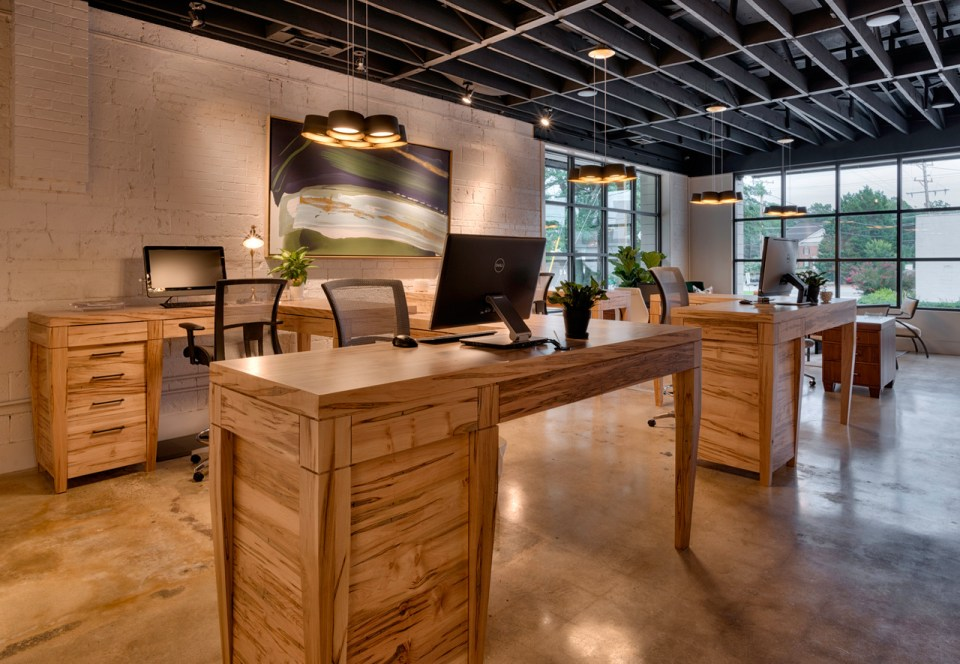 In-Site-Designs-desk-view-960x664 4 Tips for Decorating a Rustic Inspired Office
