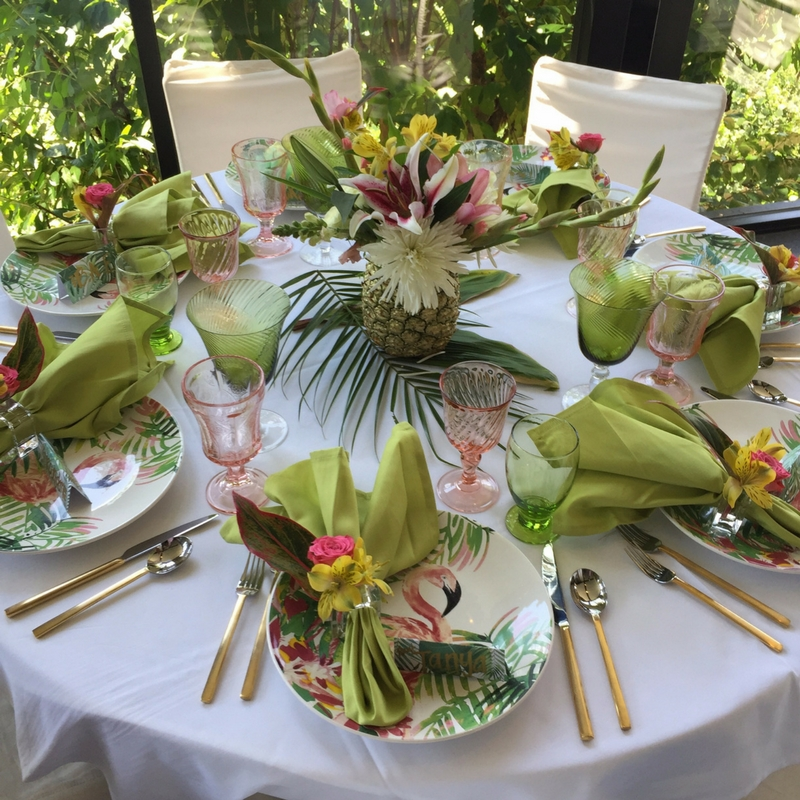 15-1 Tropical Inspired  Baby Shower -  5 Tips for Creating a Coastal ChicA�Inspired Party