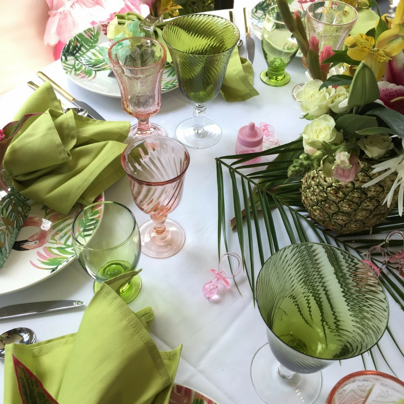 3-3 Tropical Inspired  Baby Shower -  5 Tips for Creating a Coastal ChicA�Inspired Party