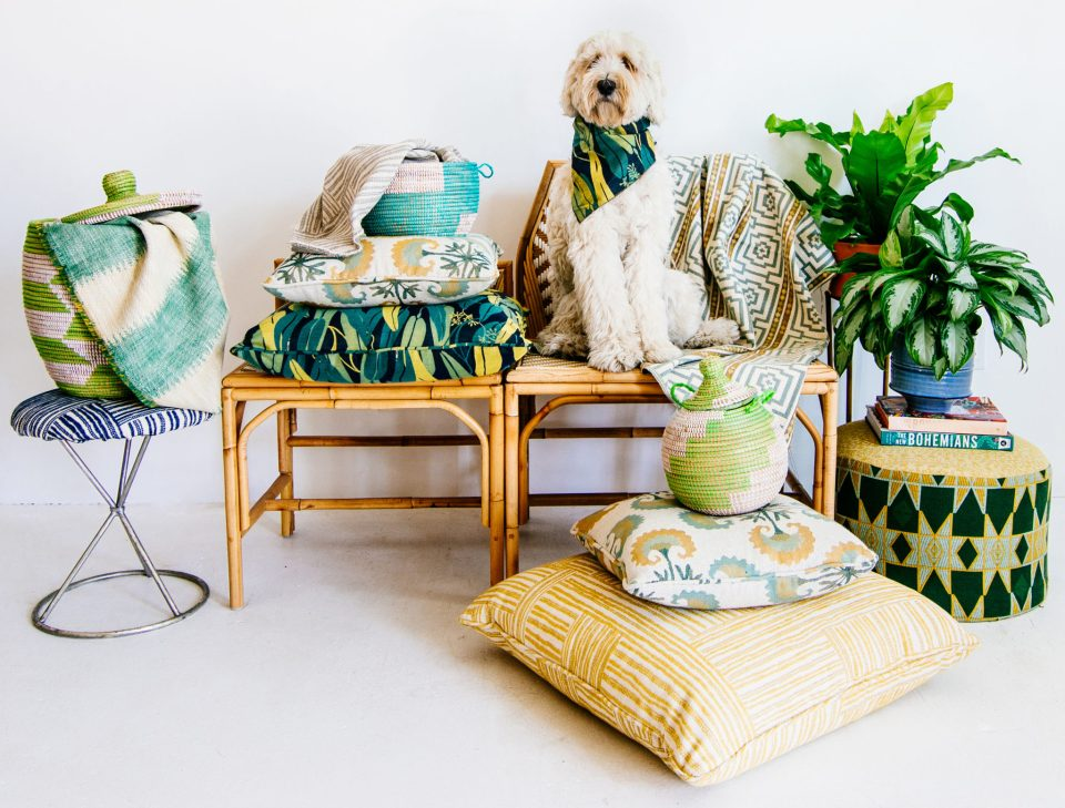 Calico-JB-Crypton-doghoriz-960x729 Tips on How to Have Bold Style that is Child-Friendly with Justina Blakeney