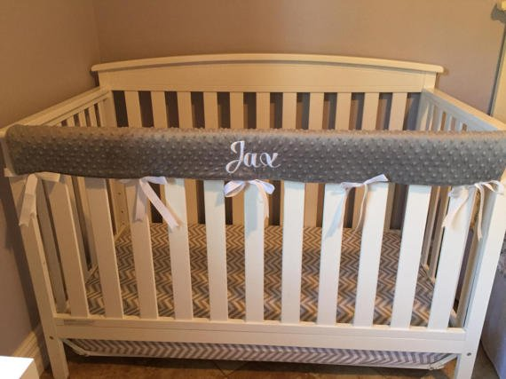 Crib-Cover 7 Southern Inspired Baby Registry Items Youa��ll Go Ga-Ga For