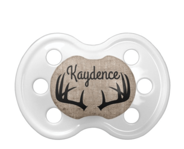 Deer-Antler-Pacifier-595x483 7 Southern Inspired Baby Registry Items Youa��ll Go Ga-Ga For
