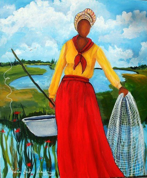 Gullah_Art_Diane_B_Dunham_2-480x580 16 Pieces of Gullah Art to Add Your Gallery Wall