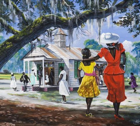 Gullah_Art_John_Jones_3-480x434 16 Pieces of Gullah Art to Add Your Gallery Wall