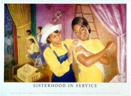 d91c29595e03a5256adc1e0e6f3472e3 Our Favorite Pieces of African American Sorority Art