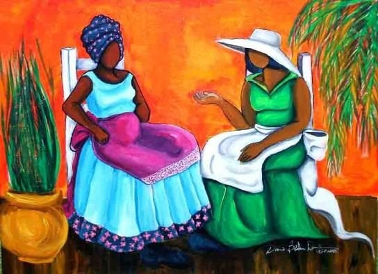 16 Images of Black Sisterhood Through Gullah Art