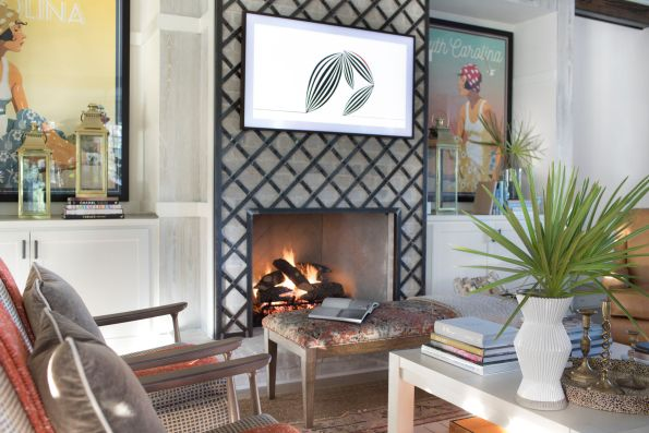 HGTV-Smart-Home-2018-Great-Room-Fireplace-595x397 HGTV Smart Home Tour - Palmetto Bluff