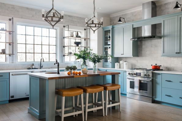 HGTV-Smart-Home-2018-Kitchen-with-Oven-595x397 HGTV Smart Home Tour - Palmetto Bluff