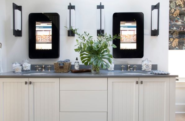 HGTV-Smart-Home-2018-Master-Bathroom-Vanity-595x390 HGTV Smart Home Tour - Palmetto Bluff