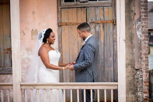 MyaKeithSneakPeeks-0035-1-595x396 Classic New Orleans Nuptials - NOLA Wedding Inspiration