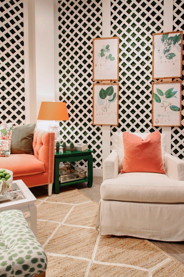 ReStyle_Retouch_29-1-595x893 AKA Home Decor Inspiration: Pink and Green Style