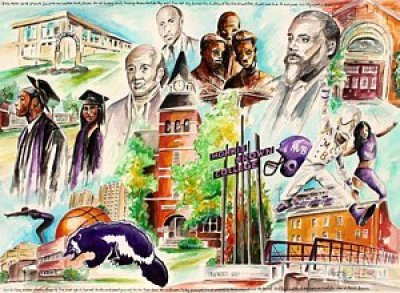 2-dear-ol-morris-brown-henry-blackmon HBCU Colleges In Fine Art: Pieces of HBCU Art To Adore