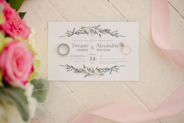 AbreaCrackel_03-595x397 Pink and Blush Southern Wedding Inspiration