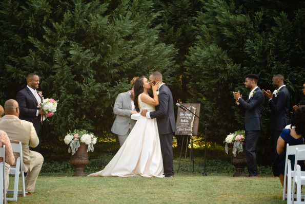 AbreaCrackel_24-595x397 Pink and Blush Southern Wedding Inspiration