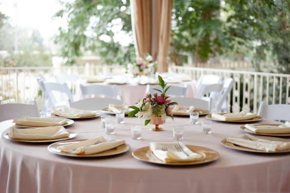 AbreaCrackel_26-595x397 Pink and Blush Southern Wedding Inspiration