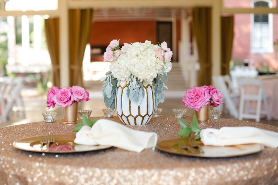 AbreaCrackel_27-960x640 Pink and Blush Southern Wedding Inspiration