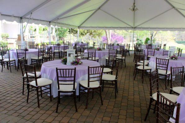 Belmont-Purple-Wedding-595x397 Southern Wedding Inspiration in Reidsville, NC