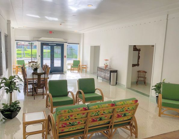 LOBBY-595x461 Designer Tour: Black-Owned Hotel in Miami - The Copper Door B&B